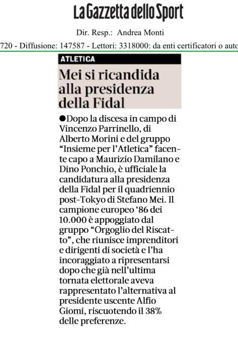 Gazzetta 14-11-19